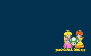 2 girls – 1 up