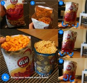 Instant Snack Bowl