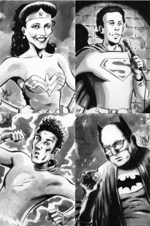 Seinfeld superhero cast