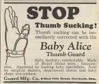 Thumb-sucking