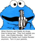 obey the cookie monster