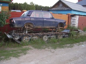 Tracked Car