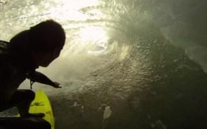 Go Pro Surfer Barrel