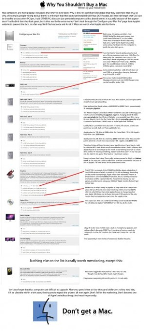 Why you shouldn`t buy a Mac