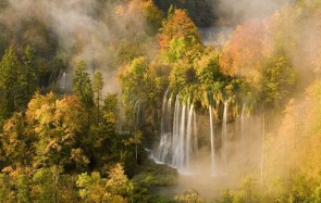 Veliki Prstavaci Waterfalls in Croatia