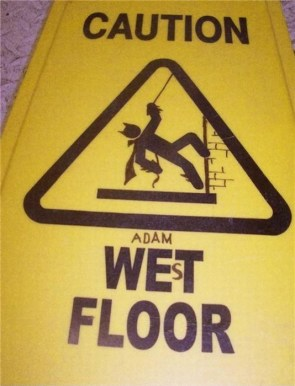 Caution – Adam West