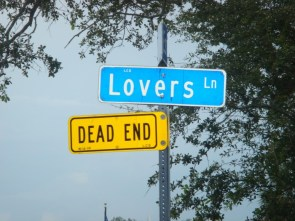 Lovers Lane IS a dead end