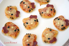 hello kitty pizzas