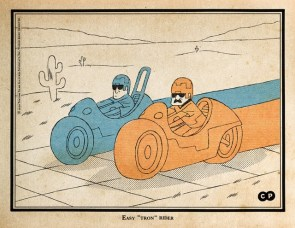 Easy Tron Rider
