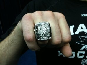 Antti Niemi 2010 Stanley Cup Ring