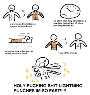 Lightening Punches
