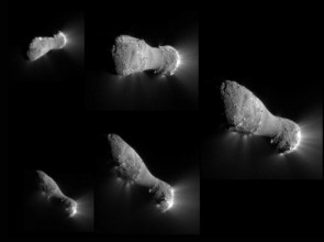 Comet Hartley 2 Flyby