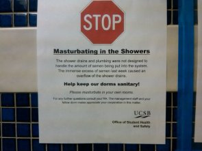 Stop Masturbating In The Showers