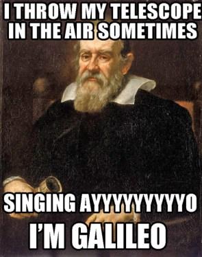 I'm Galileo