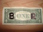 Boner Dollar Bill