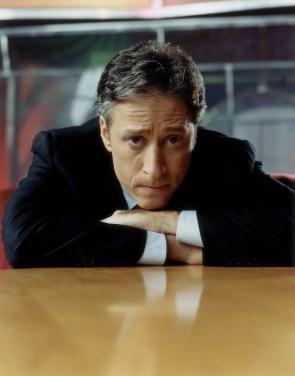 Concerned Jon Stewart