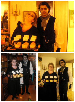 Sweeney Todd and Mrs Lovett for Halloween