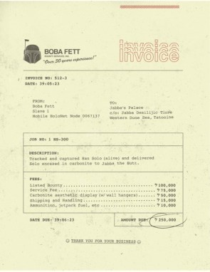 Boba Fett – Bounty Services Inc.