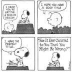 Snoopy's Book On Theology
