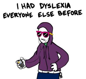 dislexic hipster