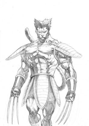 Saiyan Wolverine