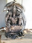 awesome dragon lamp I bid on