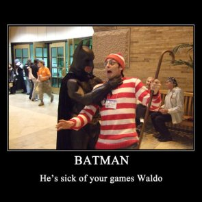 batman and waldo