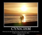 Cynicism Demotivational