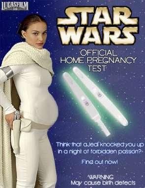 Starwars pregnancy test