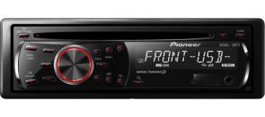 usb/3.5mm pioneer deck + 4 2-way 6.5″ 30w RMS speakers