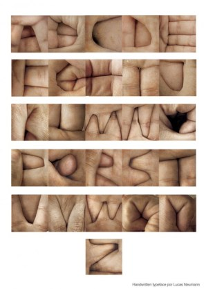 Hand letters
