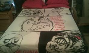 Rage bedspread