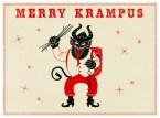 Merry Krampus wallpaper