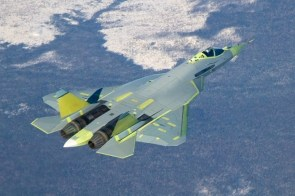 Russian stealht fighter