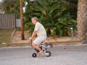 casedad on my new bike
