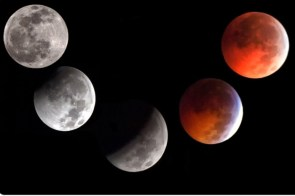Full Lunar Eclipse on Winter Solstice