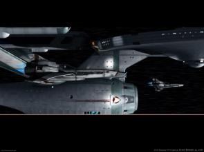 Battlestar Galactica Meets Star Trek