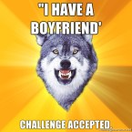 Courage Wolf: Boyfriend