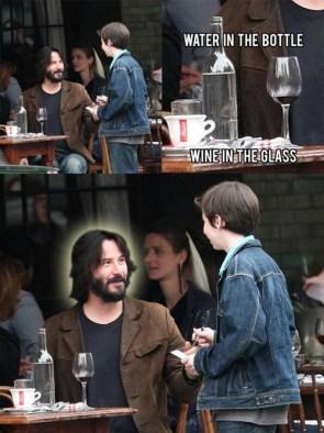 Keanu Reeves is Jesus