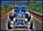 Car On Bridge by Brent Blankinship