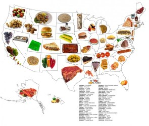 Foods by state