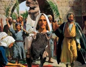 Raptor Christ on a Jesus