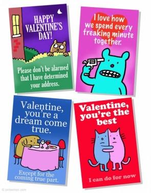 Valentine`s cards