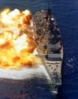 Iowa Class Battleship in Minecraft