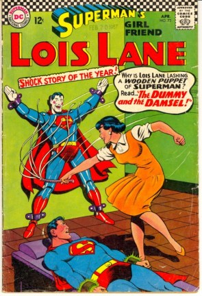 Lois with a whip