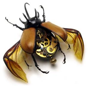 Steam Punk Bug Watch