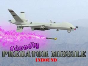 Friendly Predator Missile