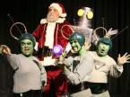 Santa Claus with Martians