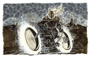 Steam Punk Ghost Rider