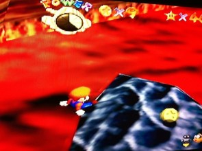 Mario Sleeping on Hot Lava